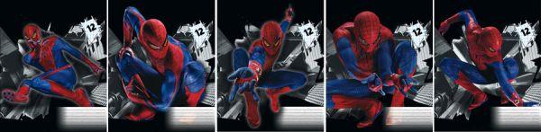 Тетр 12л скр А5 лин карт SM4F29/5-g-VQ полн УФ Spider-man