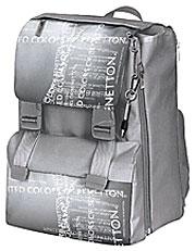 Рюкзак раскладной+ручка на шнурке 30х13х40 United Colours