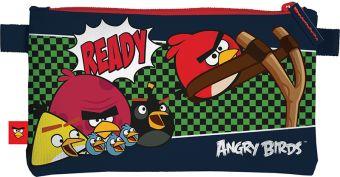 Пенал-косметичка Angry Birds 11,5 х 22 х 1