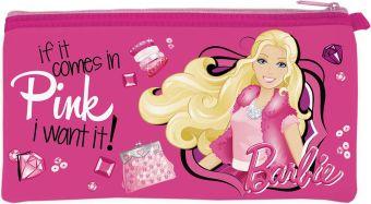 Пенал Barbie неопреновый широкий 11 х 20,5