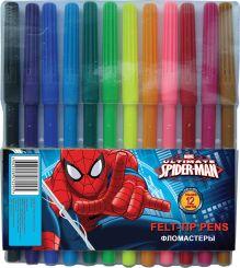 Фломастеры 12цв Spiderman