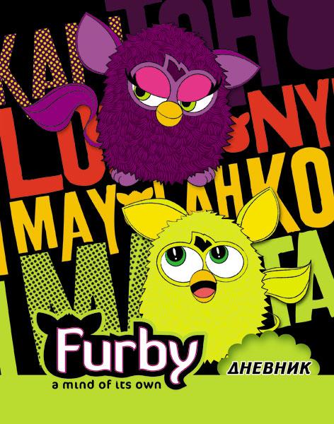 Дневн мл шк инт FB23-EAC выб УФ, тисн фольг Furby