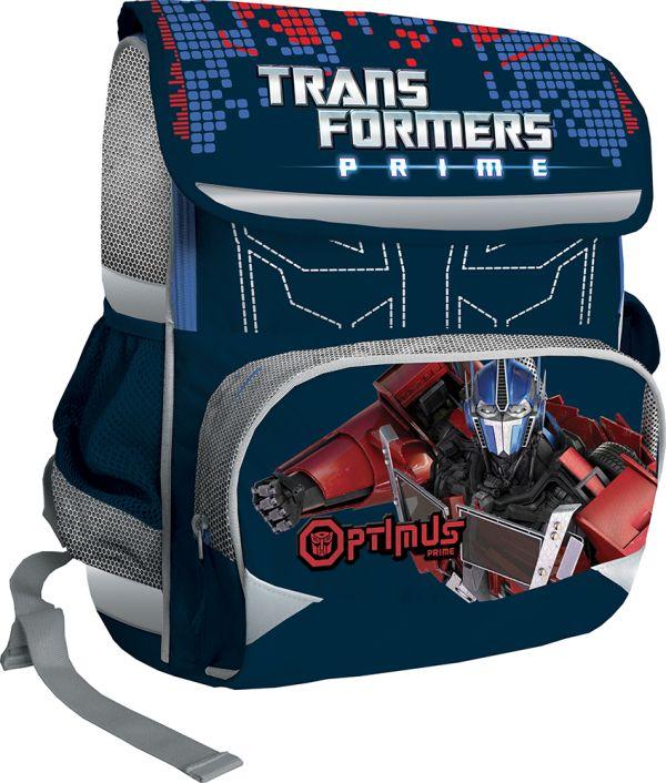 Рюкзак-ранец, спинка - EVA.  Размер 38 х 29 х 13 см Упак. 4 шт. Transformers Prime