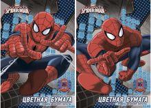 Бум цв д/дет тв 16цв 16л(2 мет) Папка 200*290 SM285/2-EAC Spider-man
