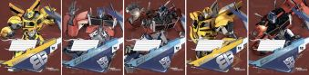 Тетр 12л скр А5 лин TR84/5-ЕАС твин УФ, тисн фольг Transformers Prime