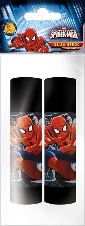 Клей-карандаш  9гр 2 шт Spiderman