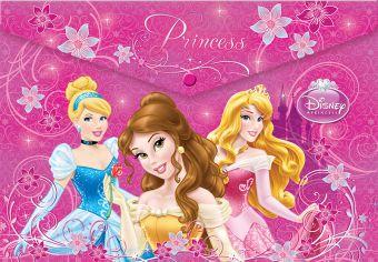 Папка на кнопке Принцесса