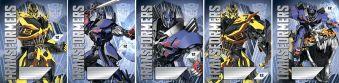 Тетрадь 12л клетка Transformers картонная обложка полн УФ