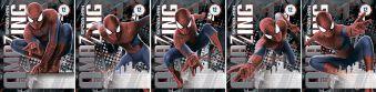 Тетрадь 12л клетка Spider-man картонная обл.УФ лак
