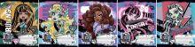 Тетрадь 24л линия Monster High выб УФ лак