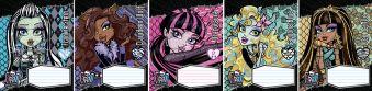 Тетрадь 12л линия Monster High картонная обложка полн УФ