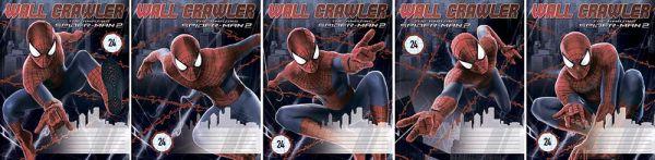 Тетрадь 24л линия Spider-man