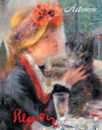 Ренуар. Art Planner 1. Девушка с собачкой