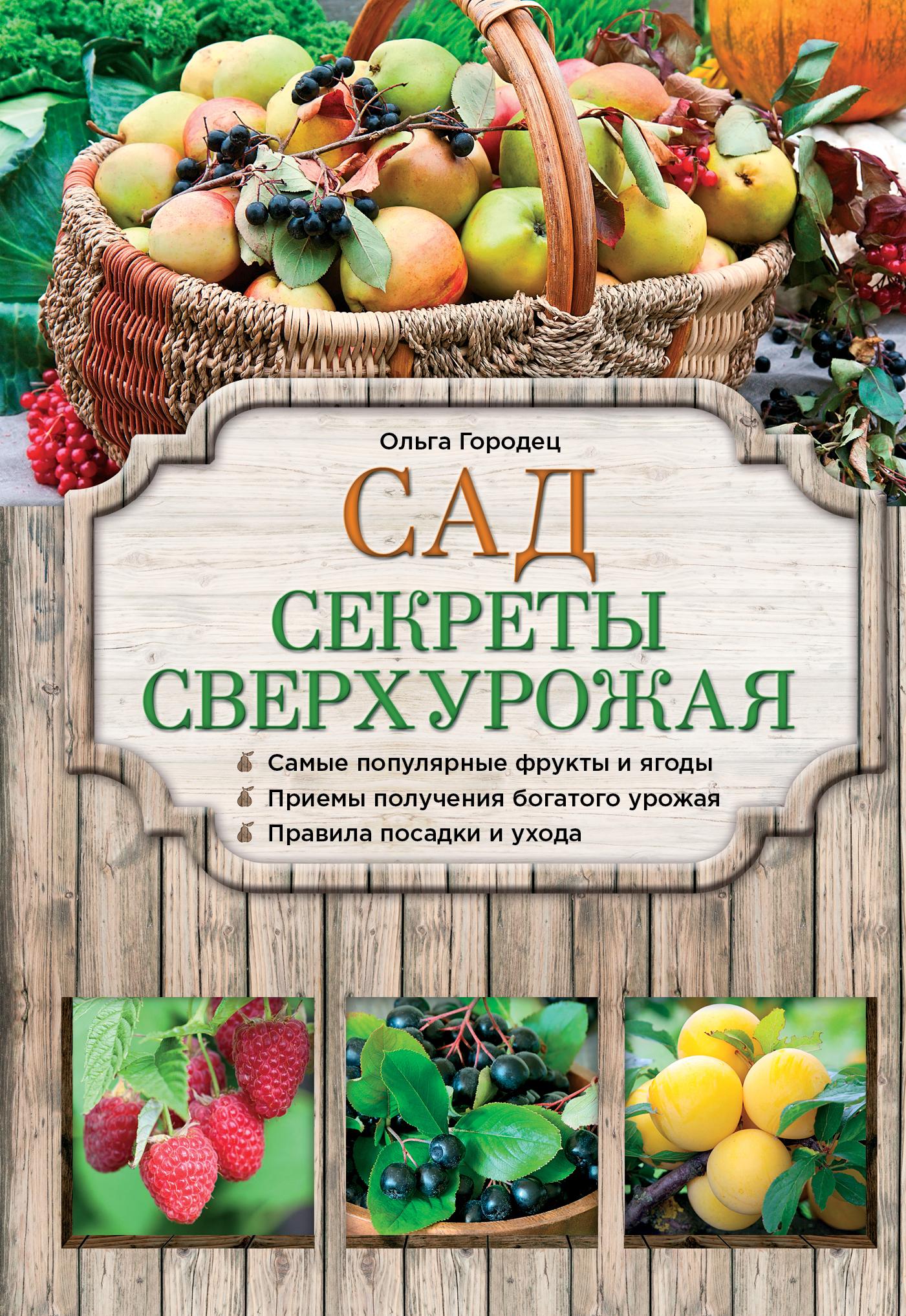 Городец О.В. Сад. Секреты сверхурожая сад секреты сверхурожая