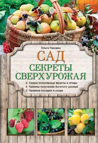 Ольга Городец - Сад. Секреты сверхурожая обложка книги