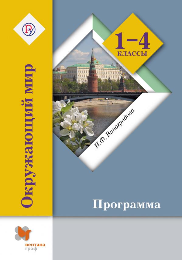 ВиноградоваН.Ф. Окружающий мир. 1-4классы. Программа с CD-диском 1с школа комплект окружающий мир 1 3 классы
