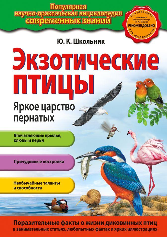 Экзотические птицы. Яркое царство пернатых Ю.К. Школьник