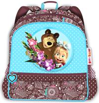 Рюкзак средний Маша и Медведь