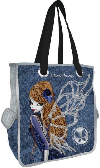 Сумка для шоппинга, два боковых кармана Размер 37 х 33 х 15 см Упак. 4//12 шт. Winx Fashion (Winx Fairy Couture)