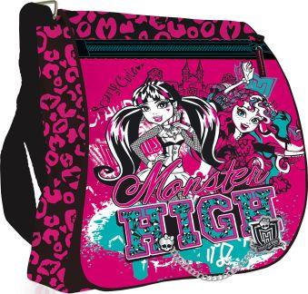 Сумка Размер 33 х 26 х 9 см Упак. 4//12 шт. Monster High