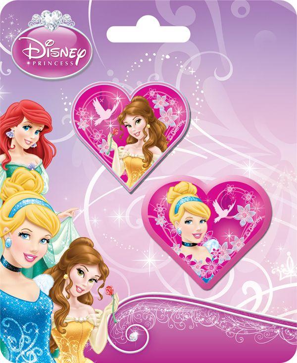 Набор канцелярский в блистере: точилка большая, ластик фигурный.  Размер 13,5 х 8 х 1,5 см Упак. 40/400 шт. Princesses