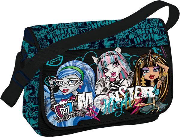 Сумка Размер 24 х 33 х 12 см Упак. 4//12 шт. Monster High