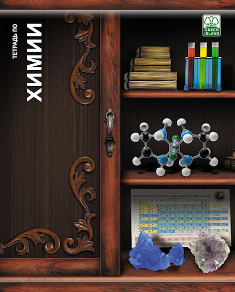 Тетр химия 48л скр А5 кл 6791-EAC Полки с книгами