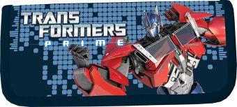 Пенал жесткий ламинированный, с креплениями для канцелярских принадлежностей. Описание: 1 отделение, прочный кант, жесткая обложка. Transformers Prime