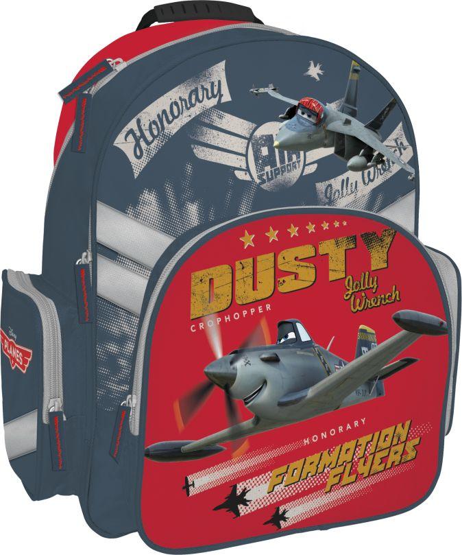 Рюкзак с эргономичной EVA-спинкой. Размер 38 x 29 x 15 см Упак. 3//12 шт. Planes