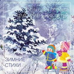 Большая поэзия для маленьких детей. Зимние стихи Бурмистрова Л.