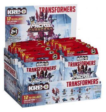 Kre-O - Kre-O Трансформеры 4 Мини-фигурки КРЕОНов Микроченджеров  обложка книги