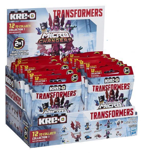Kre-O Трансформеры 4 Мини-фигурки КРЕОНов Микроченджеров  Kre-O