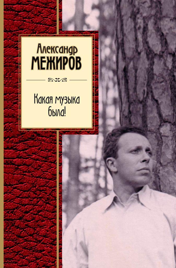 Александр Межиров - Какая музыка была! обложка книги