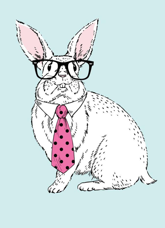 """Блокнот для записей """"Кролик-ботаник"""" (А6)"""