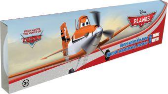 Краски акварельные (медовые), 6 цветов. Упаковка - картонная коробка, 300 г/м2, печать - 4+0, размер 19 х 4,5 х 1 см, упак. 24/144 шт Planes