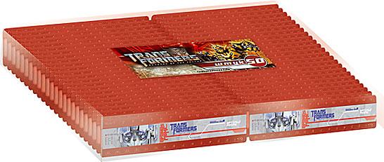 Линейки двойные 15 см 50 шт в ПВХ упаковке Transformers