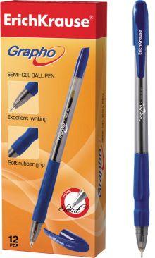 Ручка шариковая GRAPHO (Синий)