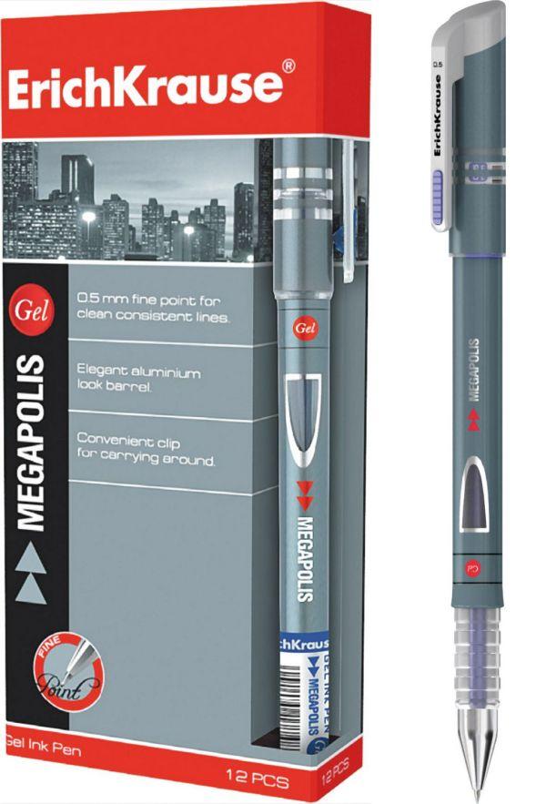 Ручка гелевая MEGAPOLIS GEL (Синий)