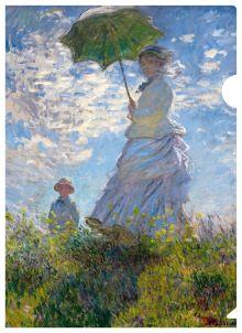 Моне (девушка с зонтиком)