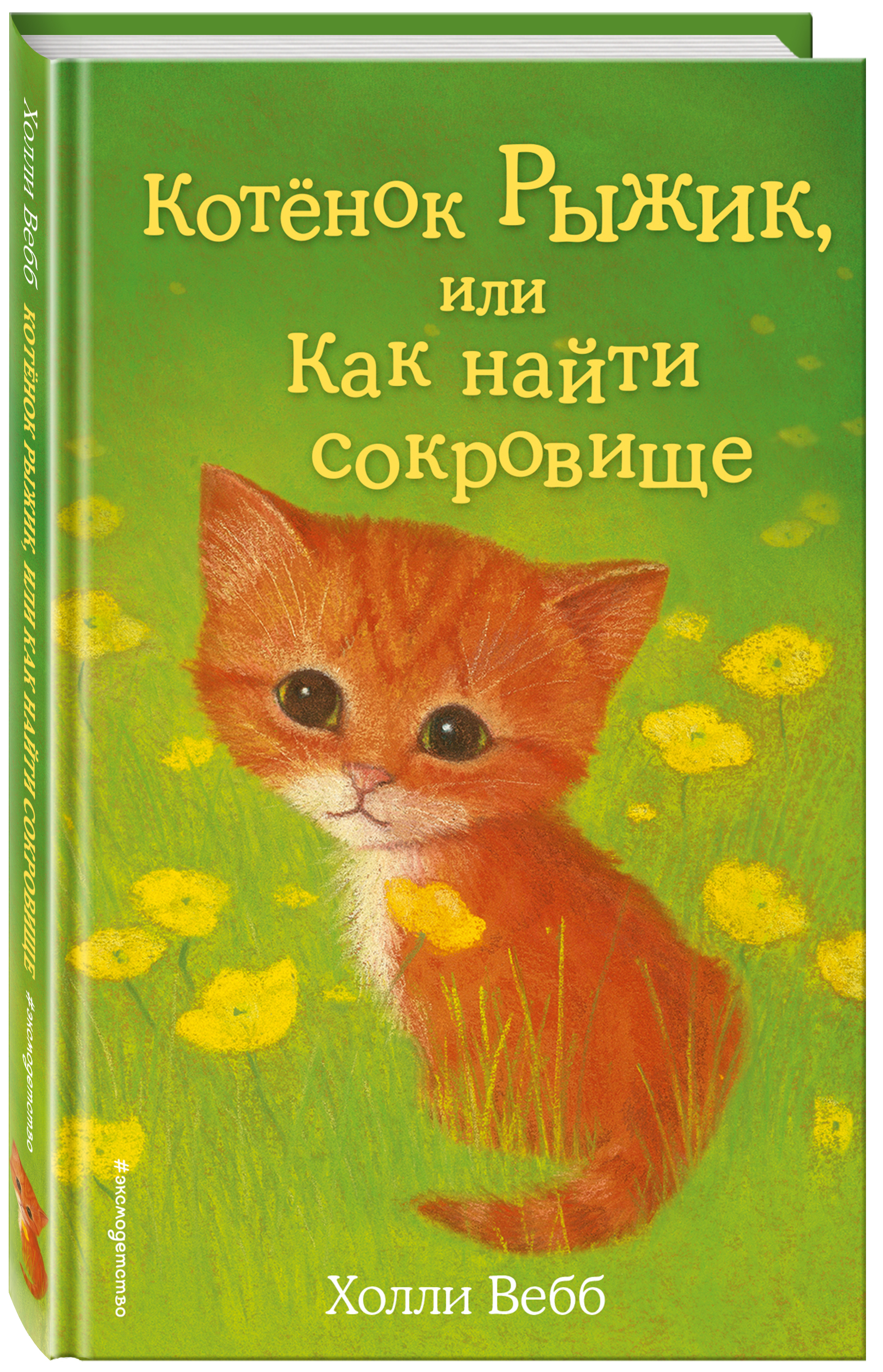 Холли Вебб Котёнок Рыжик, или Как найти сокровище