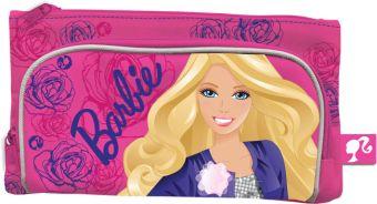 Пенал двойной. Размер 12х22х1,5 см Упак. 12//144 шт. Barbie