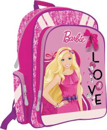 Рюкзак с эргономичной EVA-спинкой.  Размер 38 x 29 x 13 см Упак. 3//12 шт. Barbie