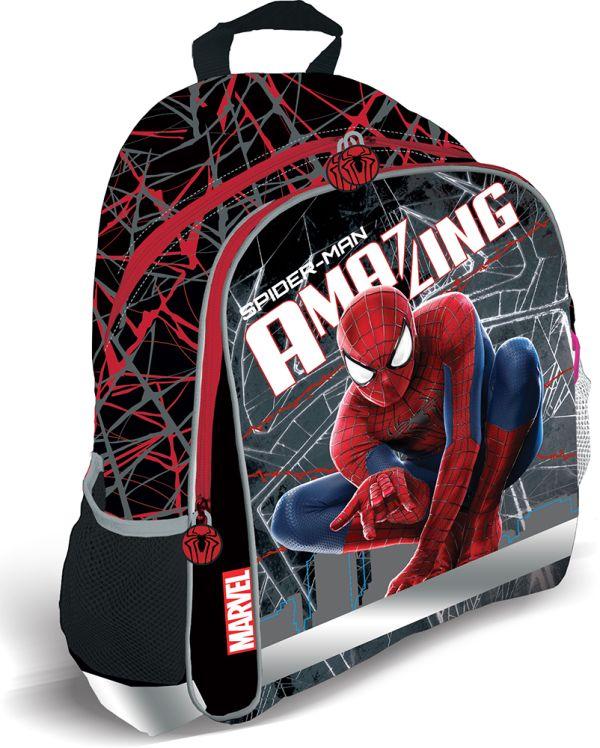 Рюкзак, мягкая спинка с вентиляционной сеткой. Размер 37,5 х 29,5 х 10,5 см Упак. 3//12 шт. Amazing Spider-man 2