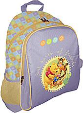 Рюкзак, мягкая спинка с вентиляционной сеткой 39x31x12 см Винни