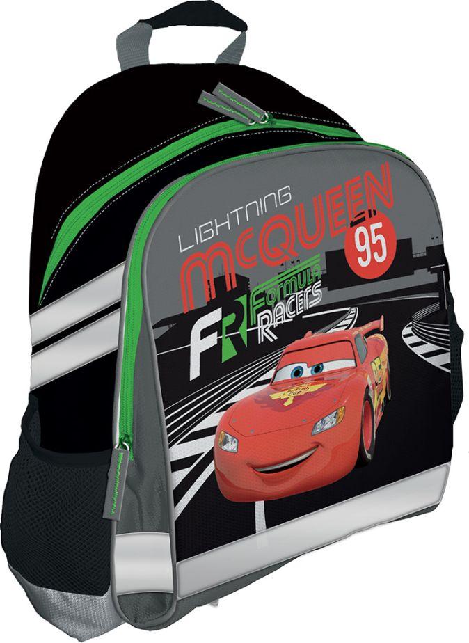 Рюкзак, мягкая спинка с вентиляционной сеткой. Размер 37,5 х 29,5 х 10,5 см Упак. 3//12 шт. Cars
