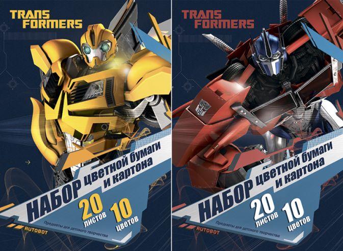 Бум и Карт цв 10цв 20л(4 мет) Папка 200*290 TR69/2-ЕАС Transformer