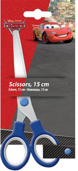 Ножницы 15 см, 1 шт. Упаковка -блистер, европодвес Cars