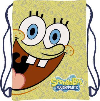 Сумка-рюкзак для обуви 43х34 см Sponge Bob
