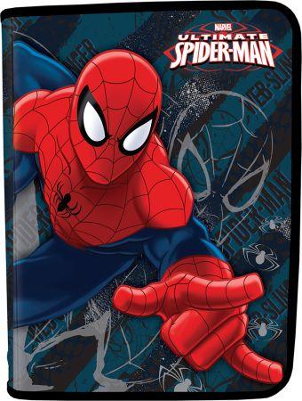 Папка для тетрадей. Молния с 3-х сторон. Толщина пластика: 0,5мм. Печать: CMYK 4+0 Размер 22,8 x 37,7 см Упак. 40 шт. Spider-man Classic