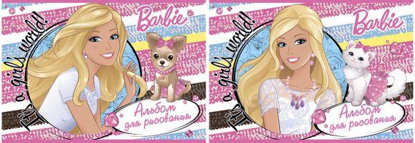Альб д.рис 20л Клей А4 B801/2-ЕАС твин УФ Barbie